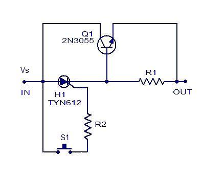 simple tone generator circuit diagram | electronics projects/info, Circuit diagram