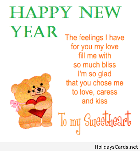 New Year Quotes In Nepali: Happy New Year Card For My Sweetheart