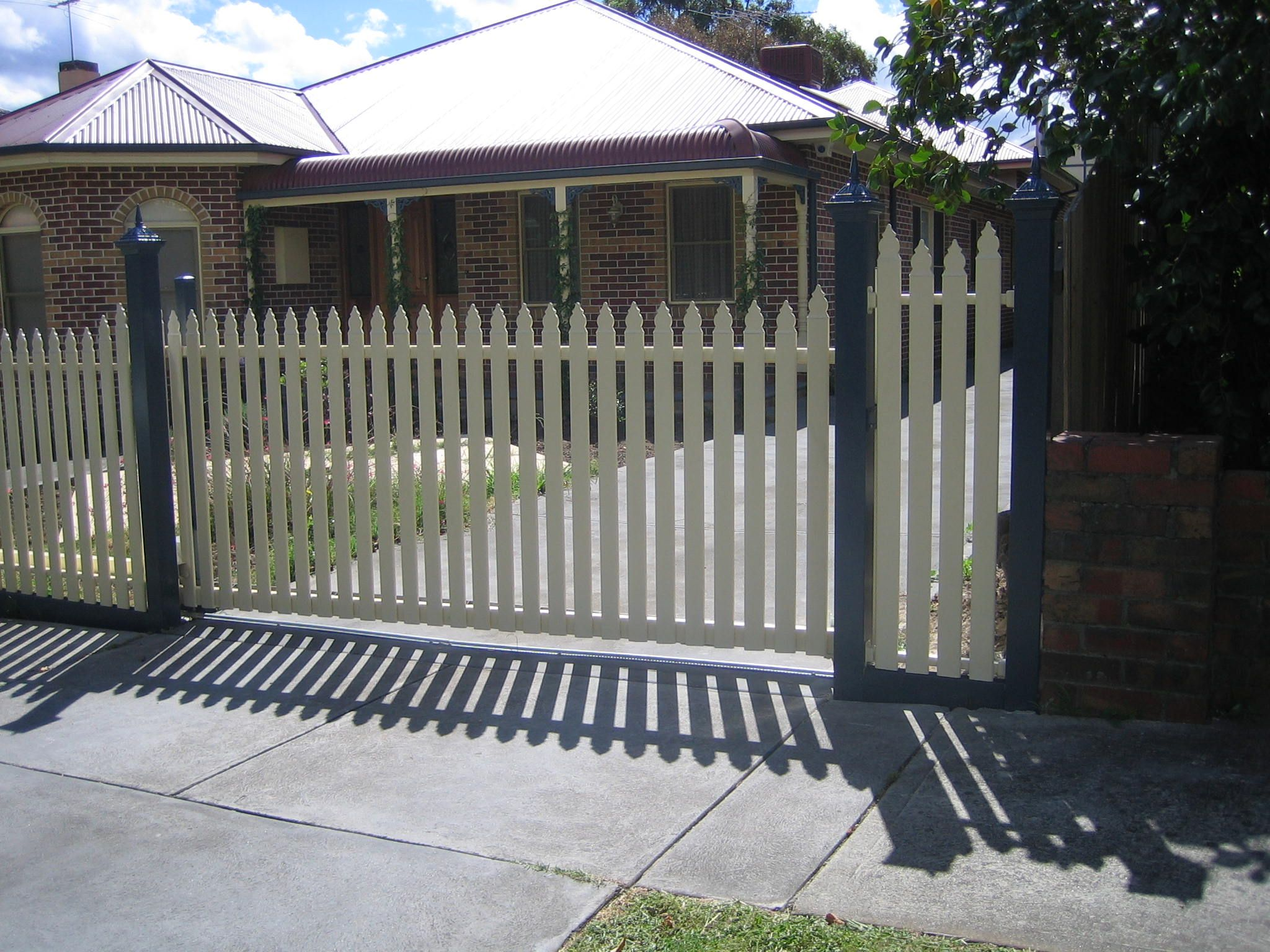 Custom made by Fence Factory in our Sunshone factory we can make any