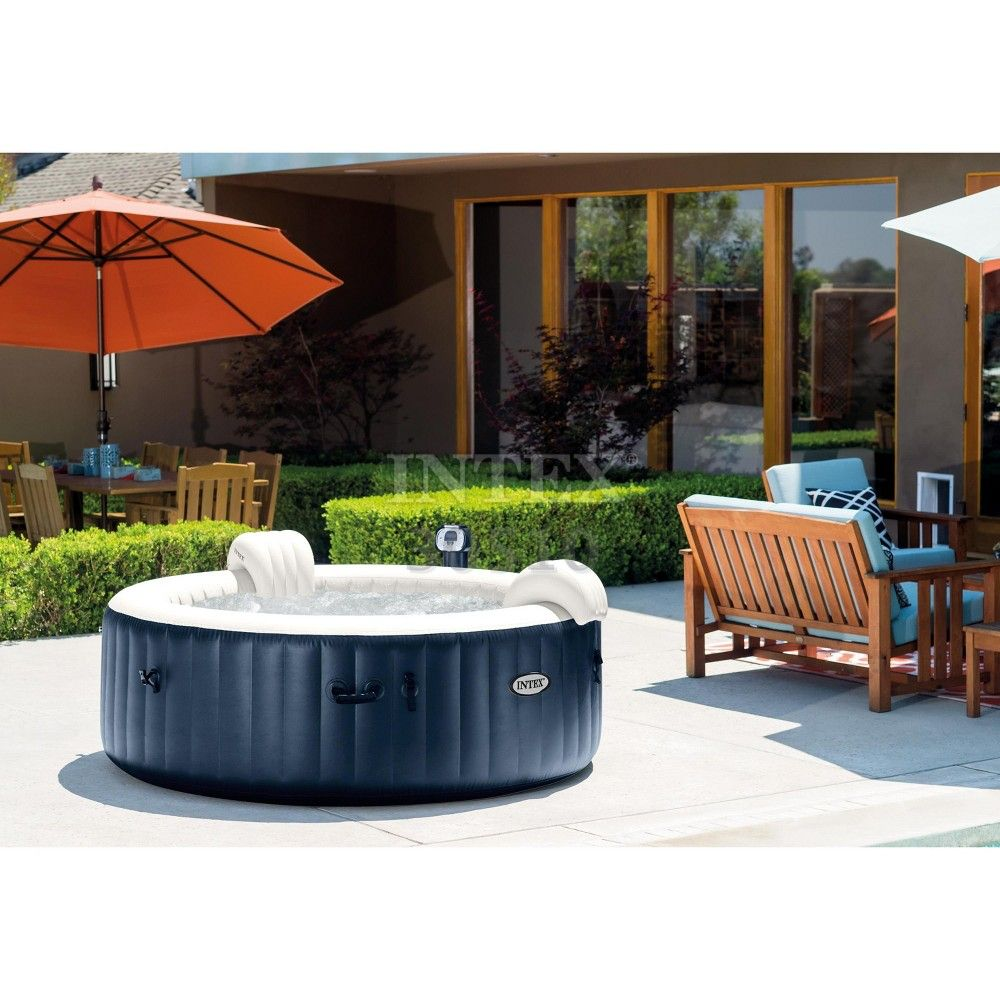 Intex pure spa inflatable 6person bubble hot tub