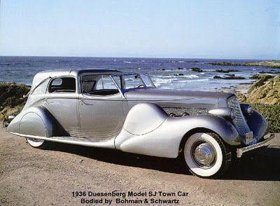 1936 Duesenberg Model SJ Town Car ===> de.pinterest.com/…