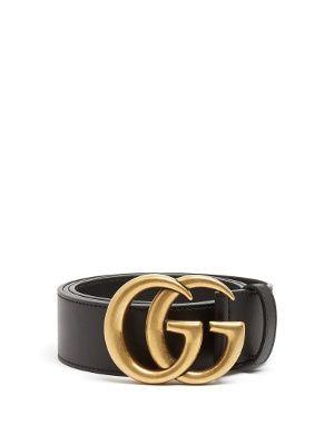 9df504b7 GG-logo 4cm leather belt | Gucci | MATCHESFASHION.COM US ...