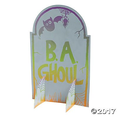 Magic Color Scratch Tombstone Stand-Ups
