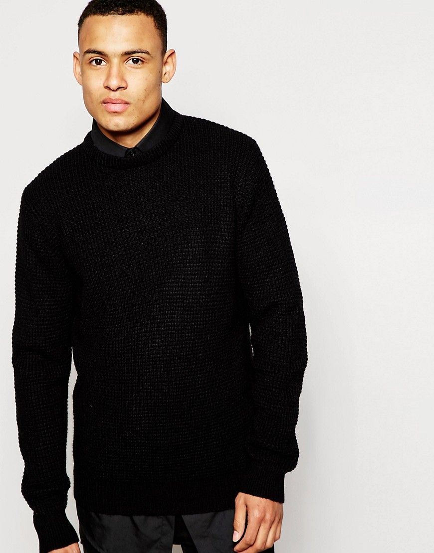 14c07ef2bca Brave Soul Knitted Sweater | Products | Men sweater, Mens jumpers ...