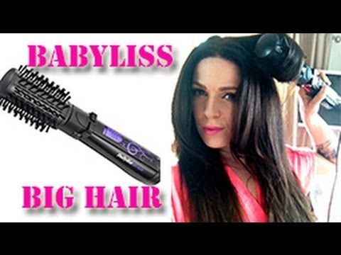 How to blow dry your hair with Babyliss big hair