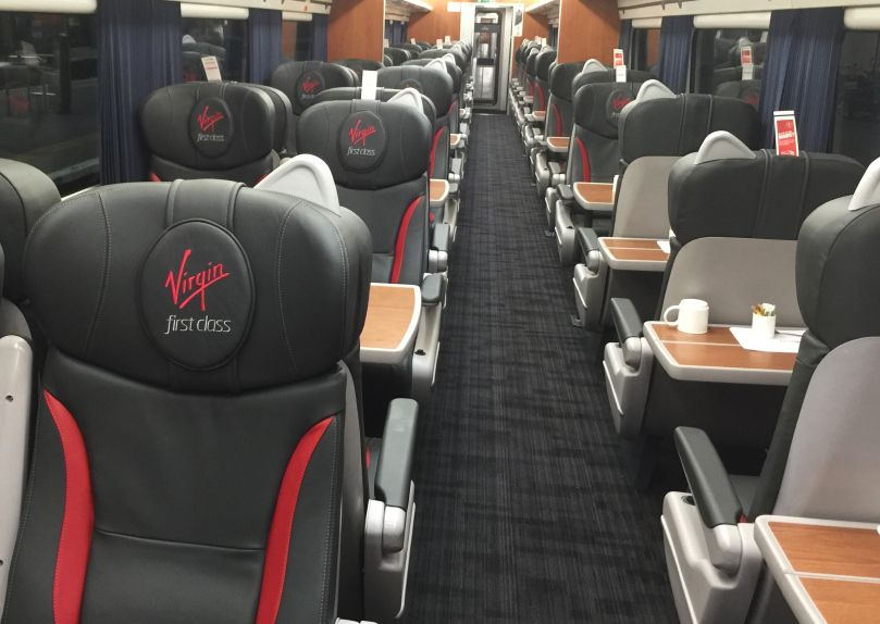 Virgin Trains East Coast Install Tessera Fr For A Fresh New Look East Coast Bus Interior Train