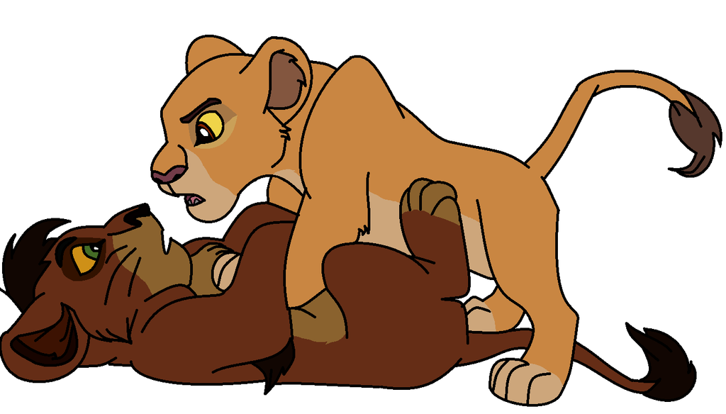 'Pinned ya!' Kiara and Kovu version base by