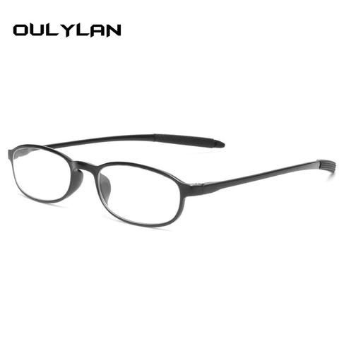 ef8215c7306f Oulylan Women Men Reading Glasses Round Hyperopia Prescription Eyeglasses  Male Female Eyewear 1.0 1.5 2.0 2.5 3.0 3.5 4