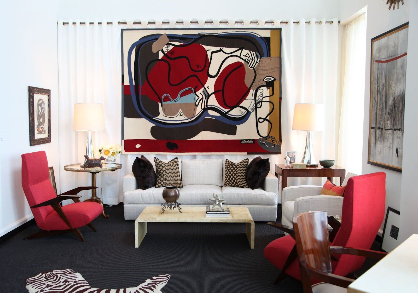 Red And Black Living Room Ideas As The Stunning Combination In 2020 White Living Room Decor Living Room Red Black And White Living Room Decor #red #black #white #living #room