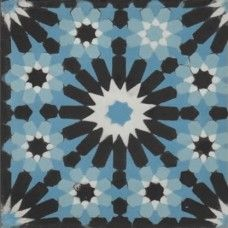 Moroccan Encaustic Cement Pattern 23b | £ 2.47 | Moroccan Encaustic Cement Pattern Tiles | Best Tile UK | Moroccan Tiles | Cement Tiles | Encaustic Tiles | Metro Subway Tiles | Terracotta Tiles | Victorian Tiles