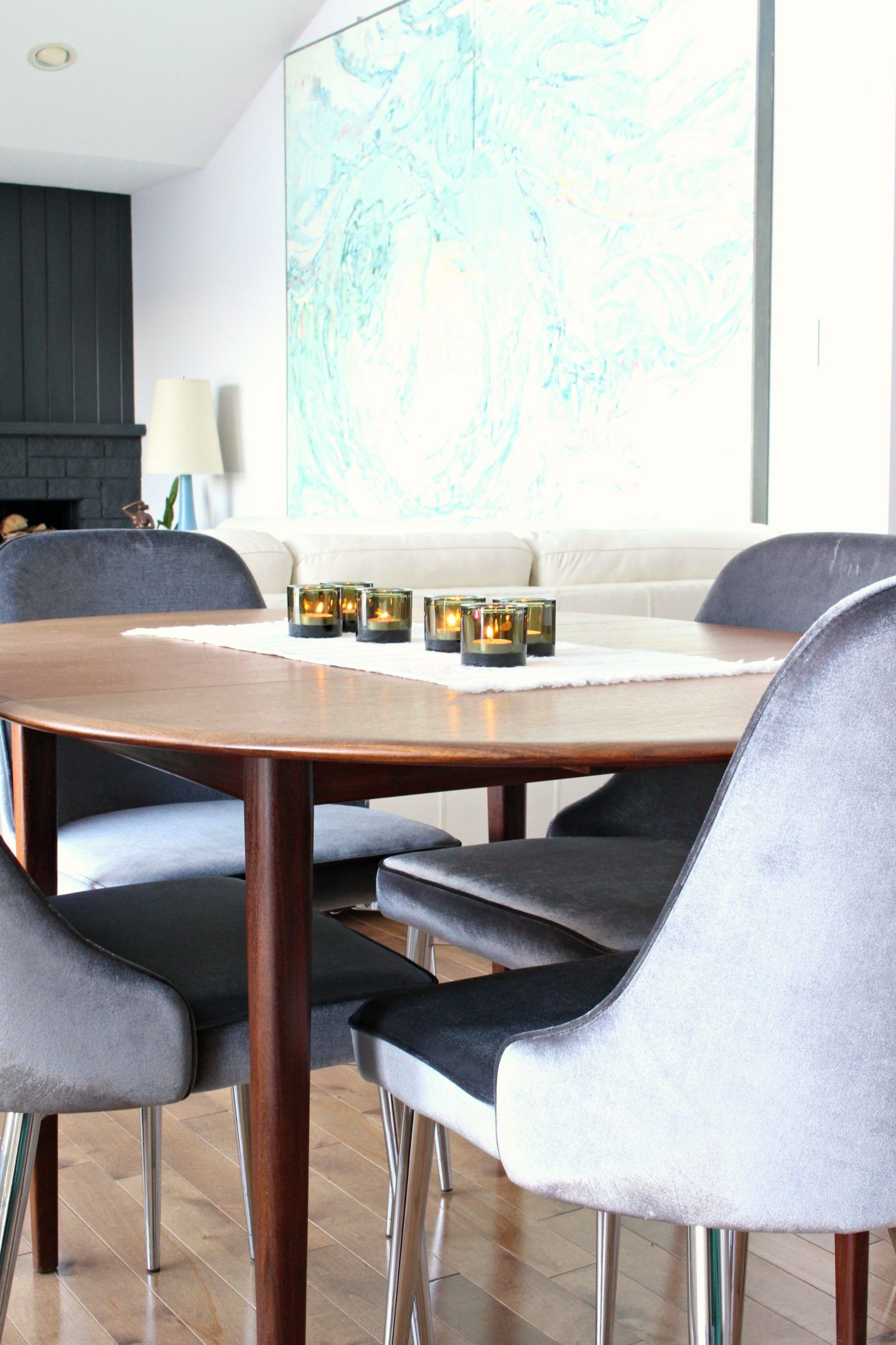 New Grey Velvet Dining Chairs 10 Affordable Mid Century Modern