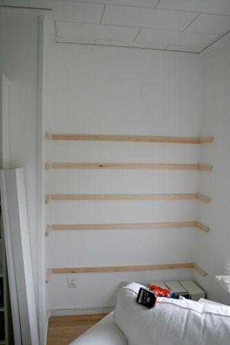 Chez Larsen shelves
