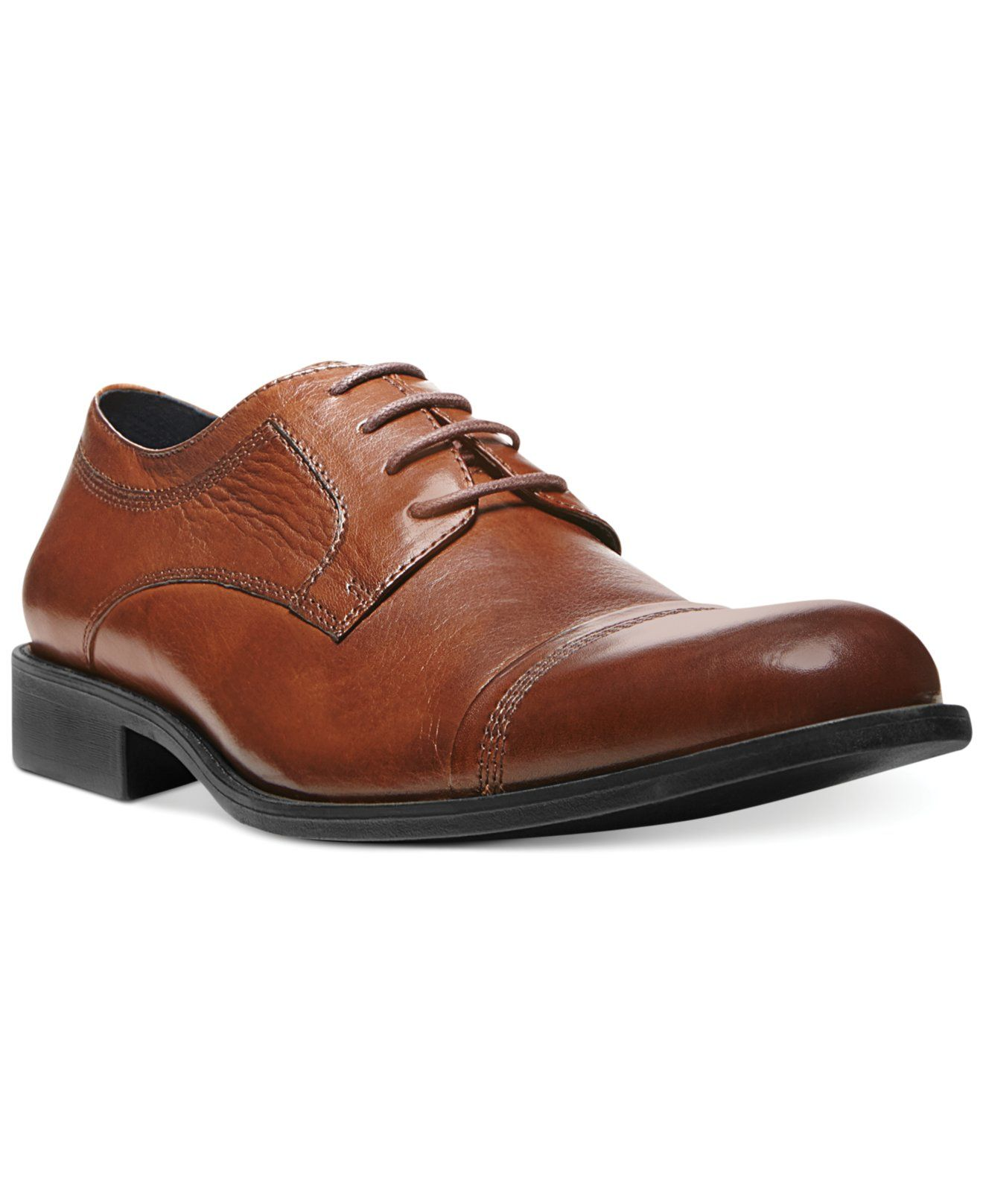605331e77fd Steve Madden Minted Cap-Toe Oxfords - Shoes - Men - Macy's | Color ...