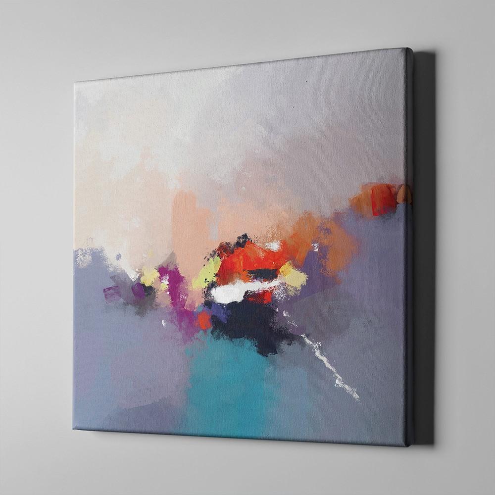 Bari Gallery تكوين 2 لوحة كانفس لوحة فنية جدارية للمنزل Art Painting