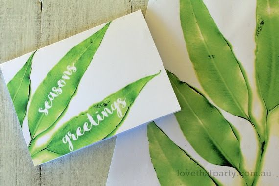 Australian Christmas Cards Free Download.Get This Gorgeous Gum Leaf Printable Christmas Card And Wrap