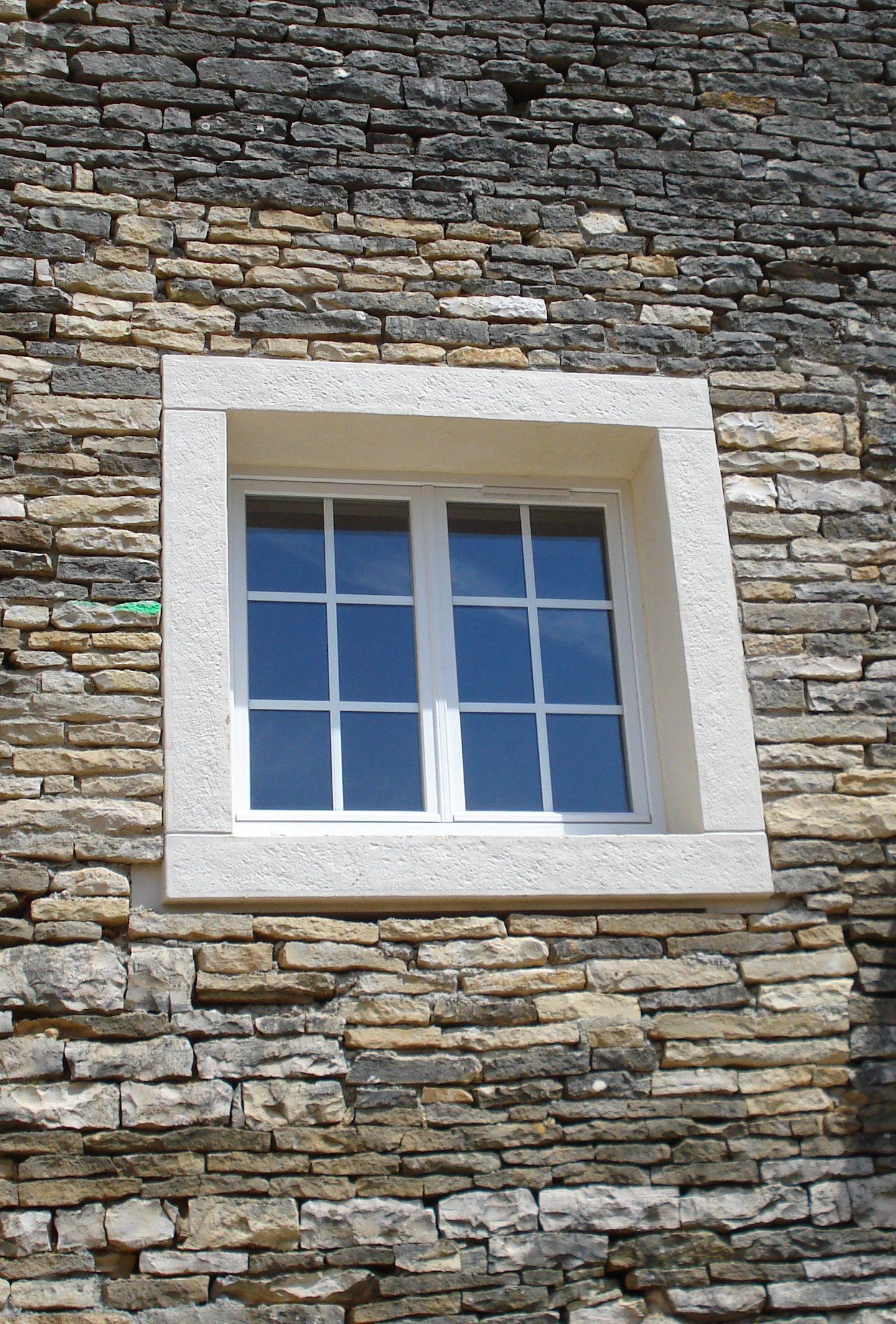 Encadrement De Fenetre Facade encadrement de fenêtre en pierre reconstituée, monobloc