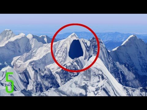 5 Secret Places Censored on Google Maps - YouTube