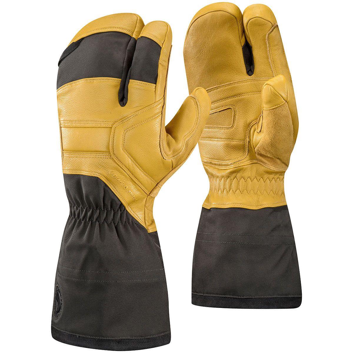 Mens gloves extra large - Gloves And Mittens 62172 New Black Diamond Guide Finger Mens Ski Snowboard Lobster Mitt