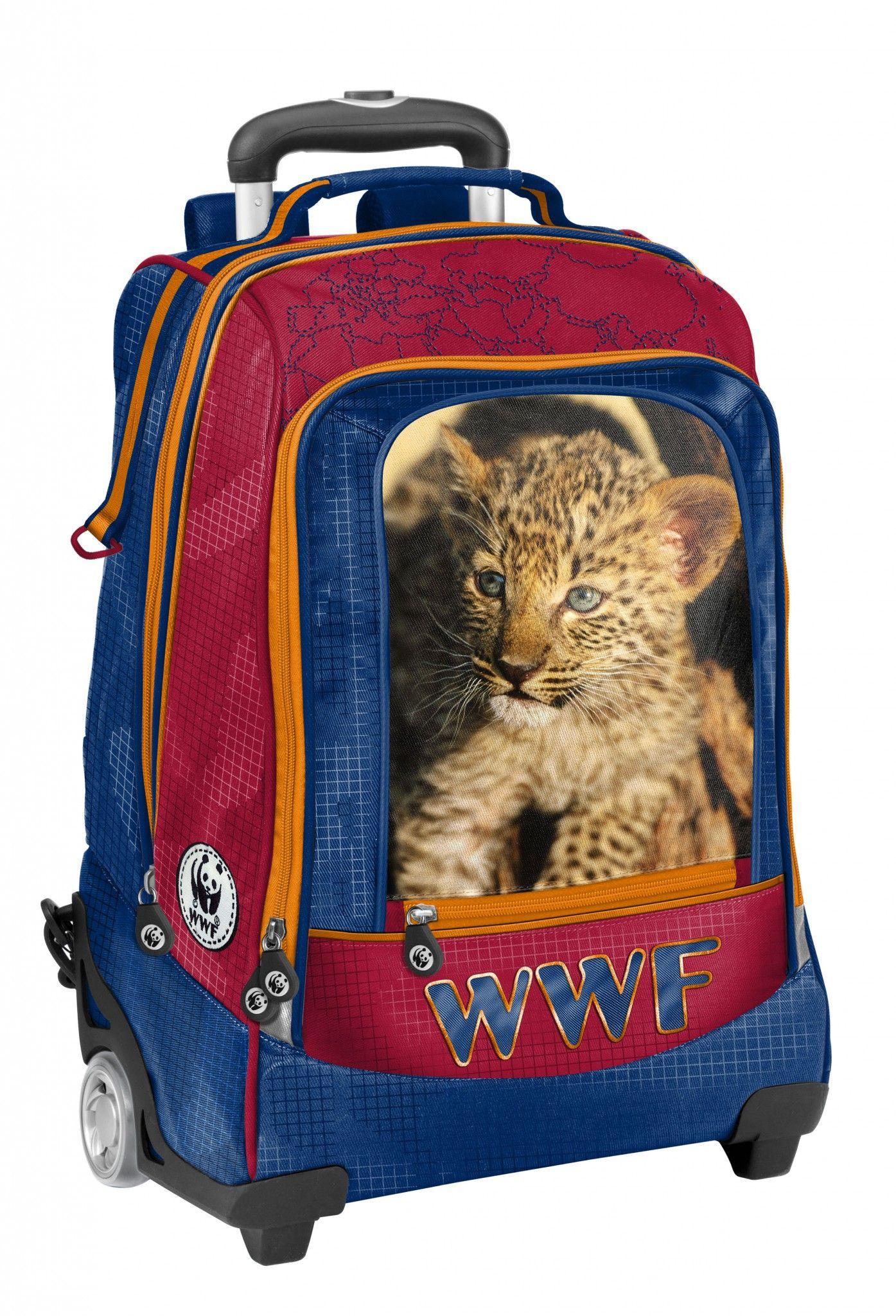 economico per lo sconto f4a16 a361b zaino trolley wwf | WWF Scuola | Zaino e Scuola