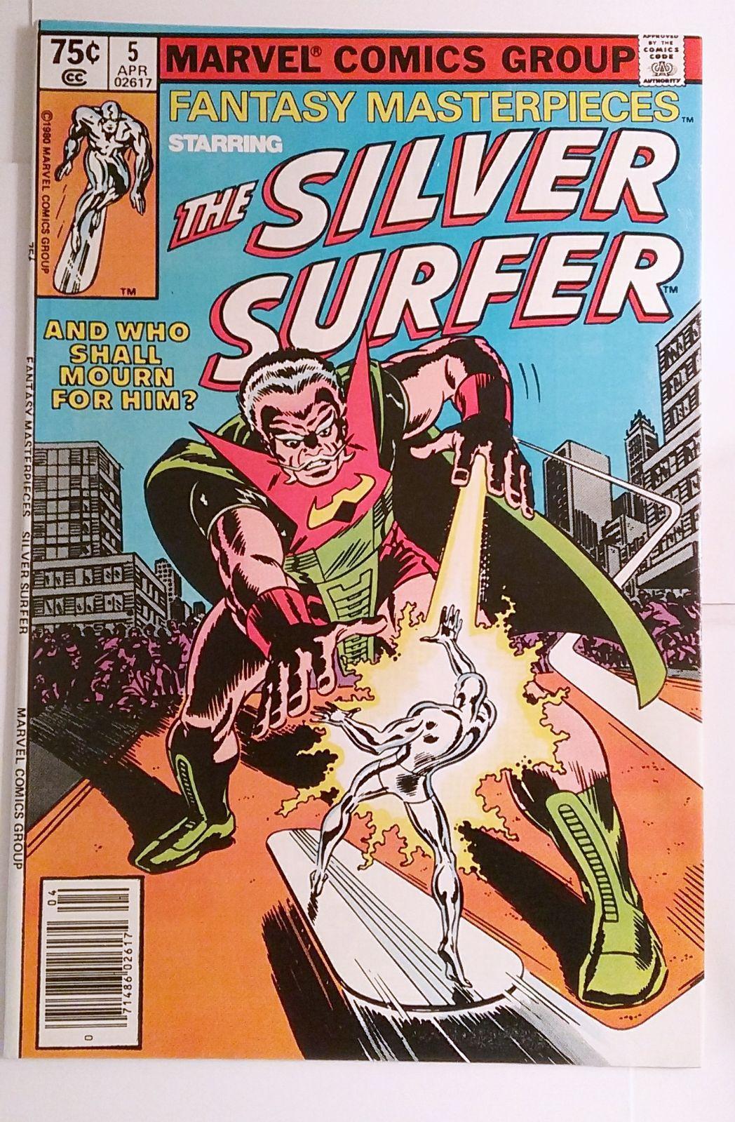 #3 Series 1 Marvel Universe Silver Surfer