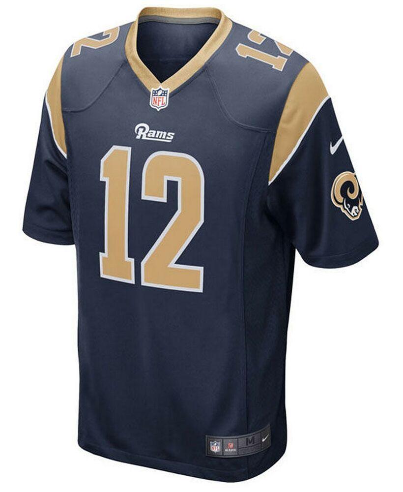 769783cd225 LA Rams 12 COOKS Football Jersey Youth L (14-16) NFL on Field #Nike  #LosAngelesRams
