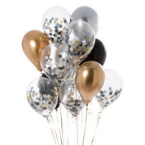Glitz And Glam Confetti Balloons (Pk14) in 2020 | Confetti ...