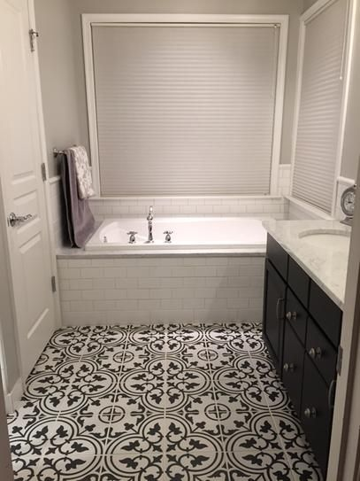 Daltile Finesse Bright White 3 In X 6 In Ceramic Wall Tile 12 5 Sq Ft Case Fe0136hd1p The Patterned Bathroom Tiles Tile Bathroom White Bathroom Tiles