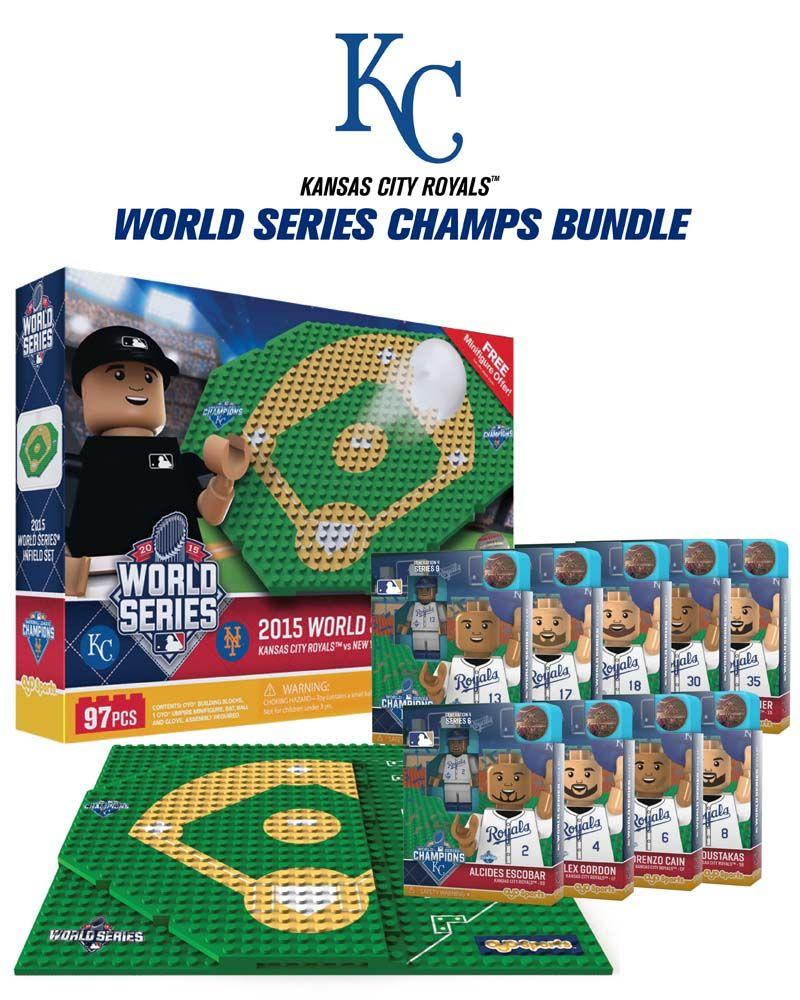 OYO Sports MLB OYO World Series Champion Bundle Kansas