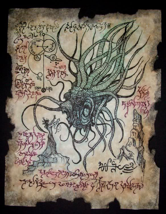 Pin by D N on Necronomicon in 2019   Lovecraft cthulhu