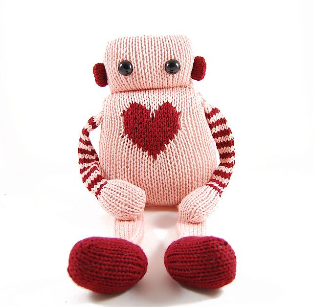 Ravelry: Louie the Lovebot pattern by Rebecca Danger