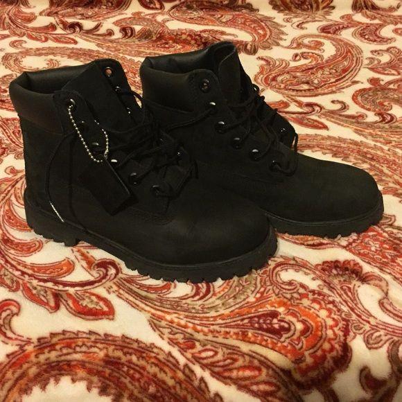 ❗️SATURDAY SALE❗️Black Timberland Boots