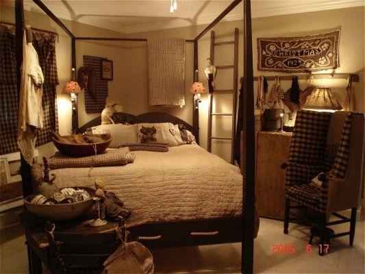 65 Cozy Rustic Bedroom Design Ideas: Primitive/Rustic/Farmhouse/Vintage