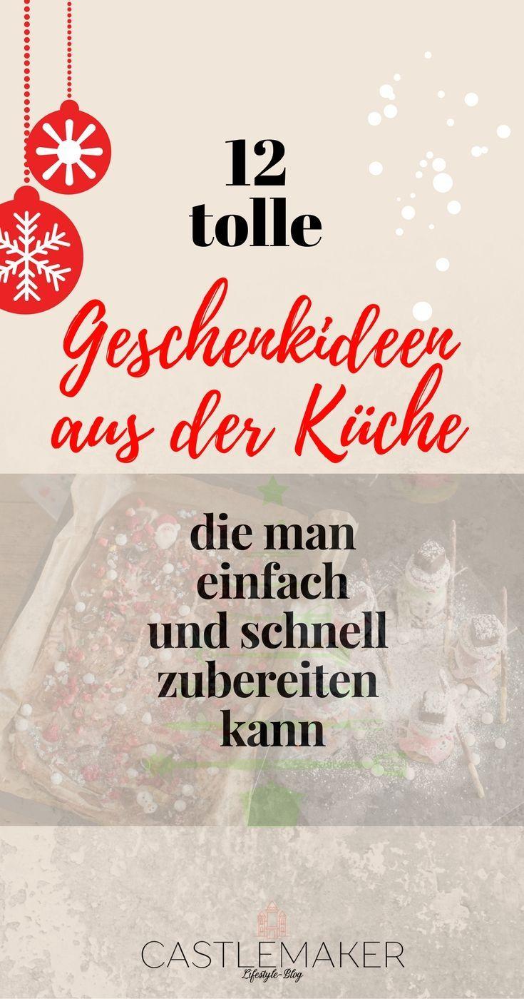 Viele tolle Last Minute Geschenke aus der Küche - Blogparade « CASTLEMAKER Lifestyle Blog