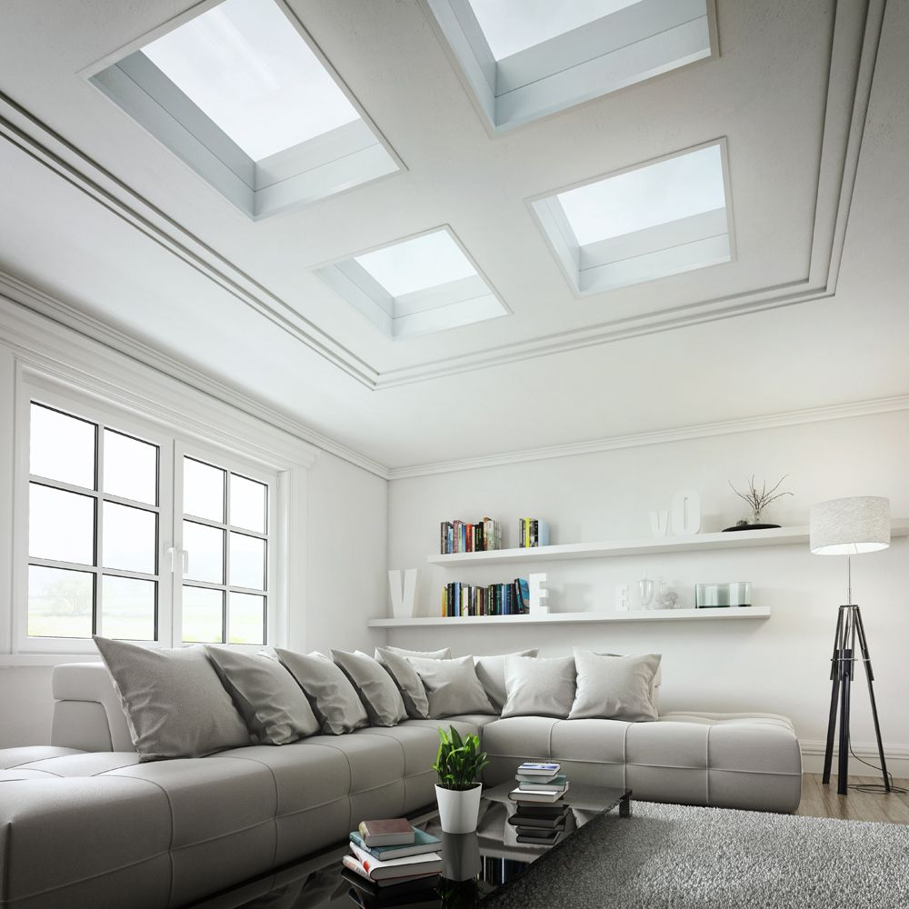 Eco Glass Rooflights Stylish High Performing Flat Roof Windows That Cost A Fraction Of The Cost Of Other S Dining Room Cozy Velux Windows Flat Roof Extension