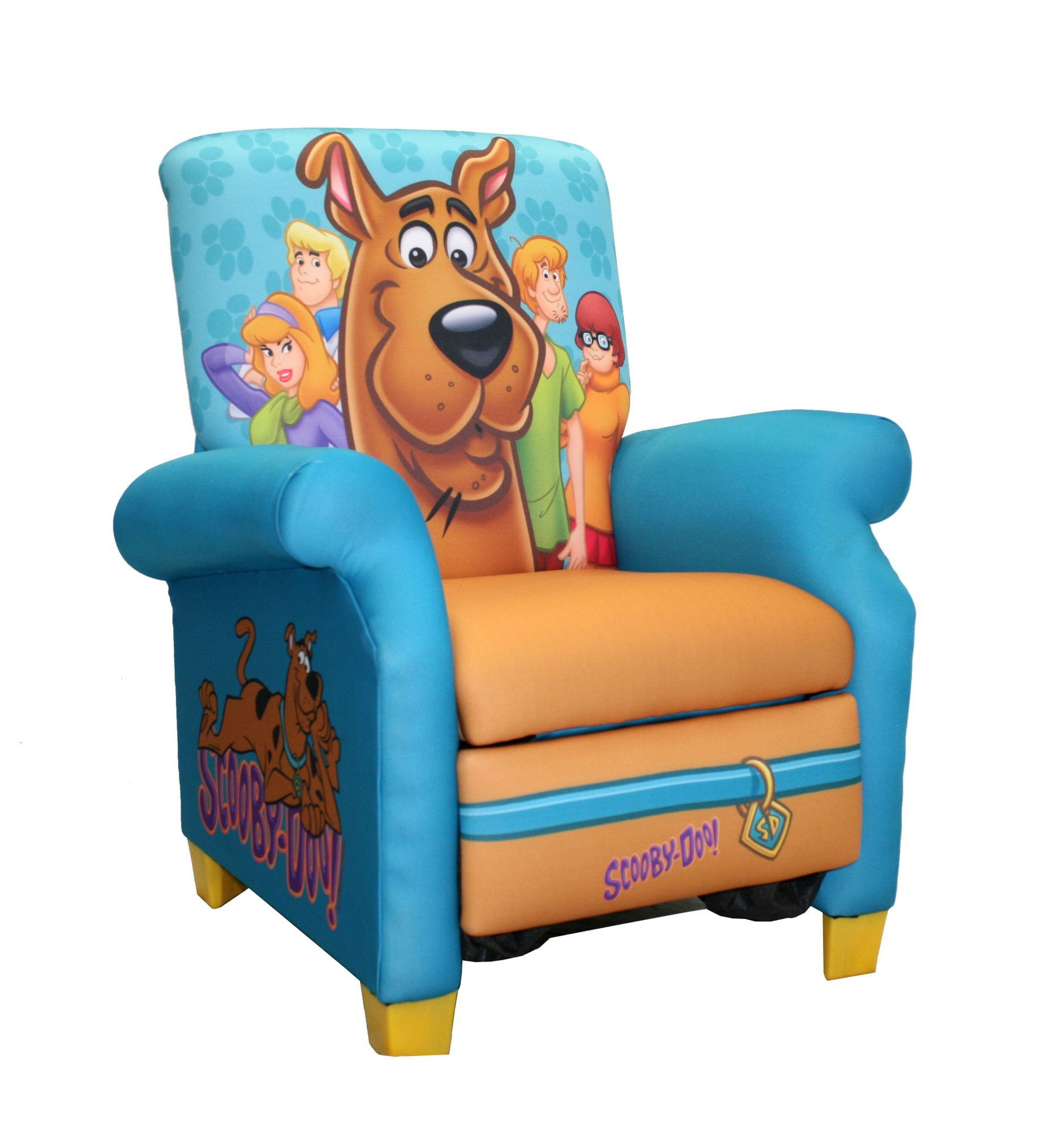 Scooby Doo Chair Antique Childs Rocking Value Paws Kid S Recliner