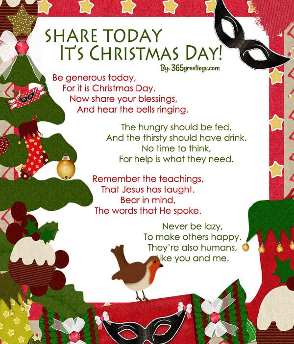 Christmas poems for kids pinterest