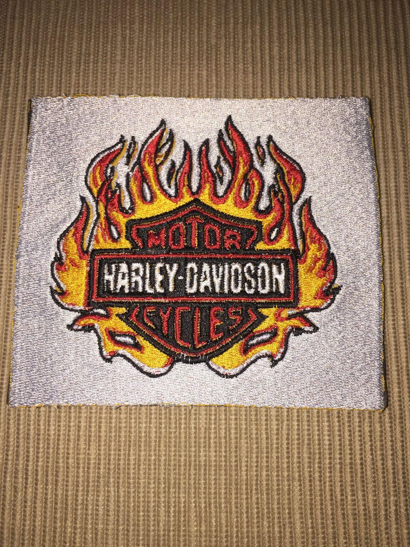 Custom Embroidered Harley Davidson Coaster Mug Rug Set Of 4 By Dsdesignsunlimited On Etsy [ 1500 x 1125 Pixel ]