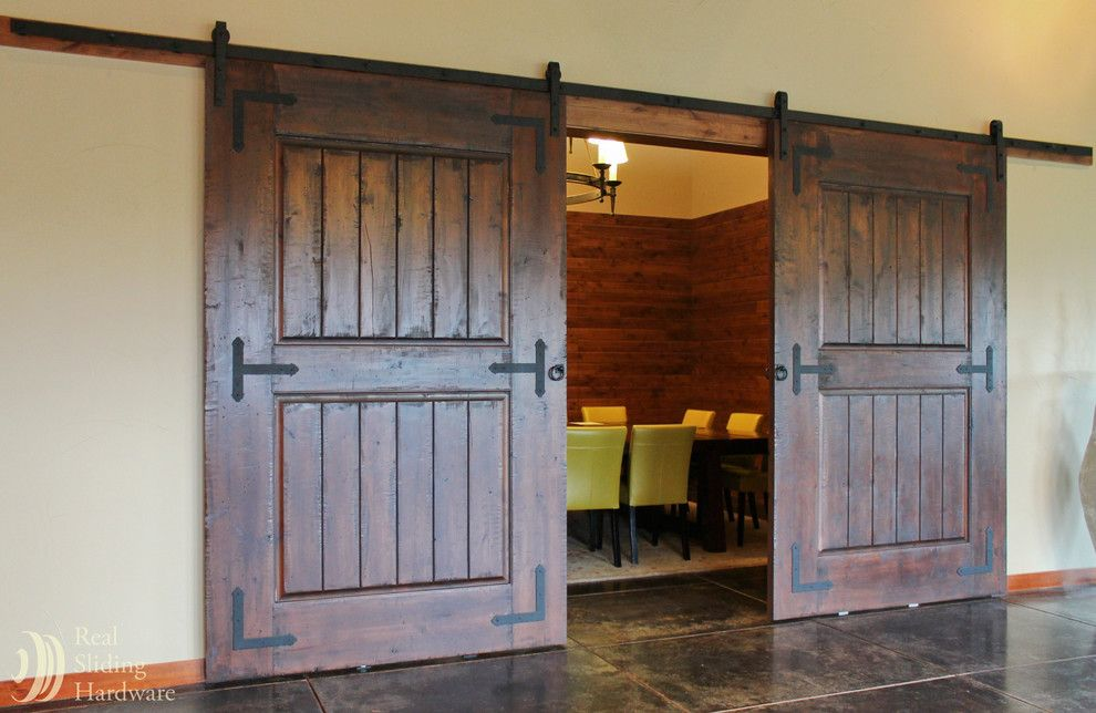Rustic Sliding Barn Door Hardware For More Interior Barn Door