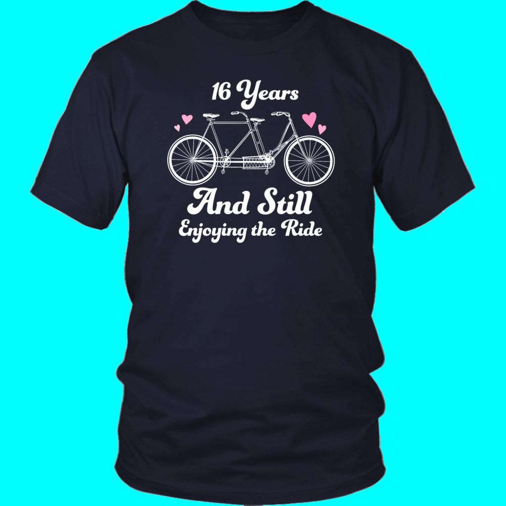 16th Wedding Anniversary Gift Shirt 16th wedding