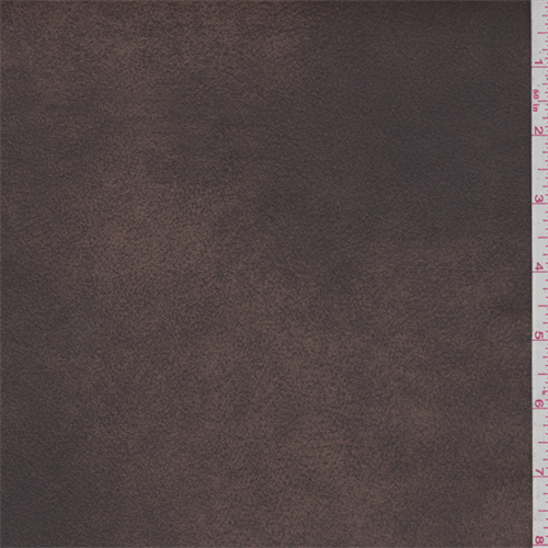 Sepia Brown Bonded Leather - 43077X | Fashion Fabrics