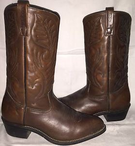 Leather Wide (E,W) Solid Cowboy, Western ROCKY Boots for Men | eBay