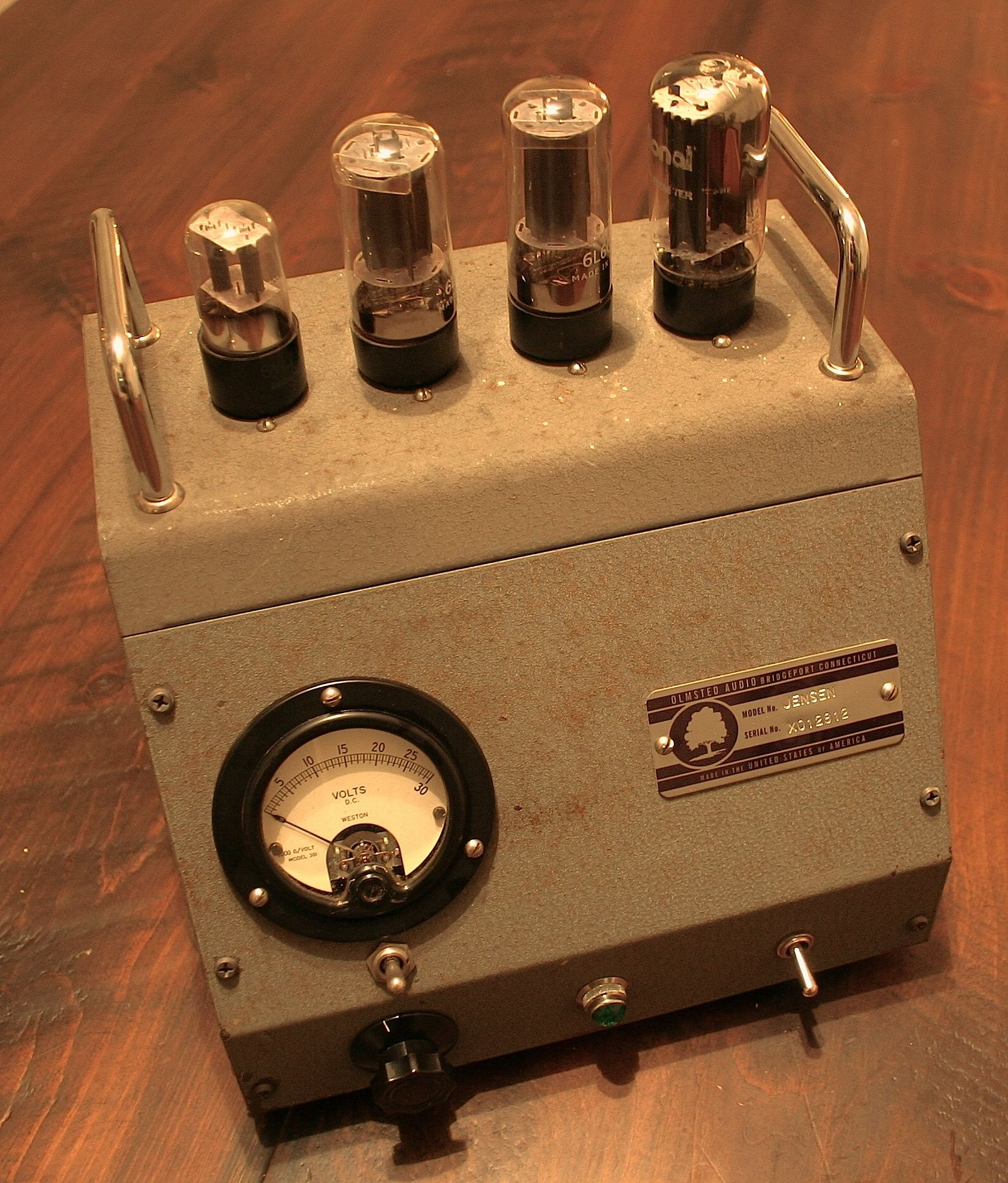 Olmsted Audio Jensen Stereo Audio Power Amplifier | HI-END ...