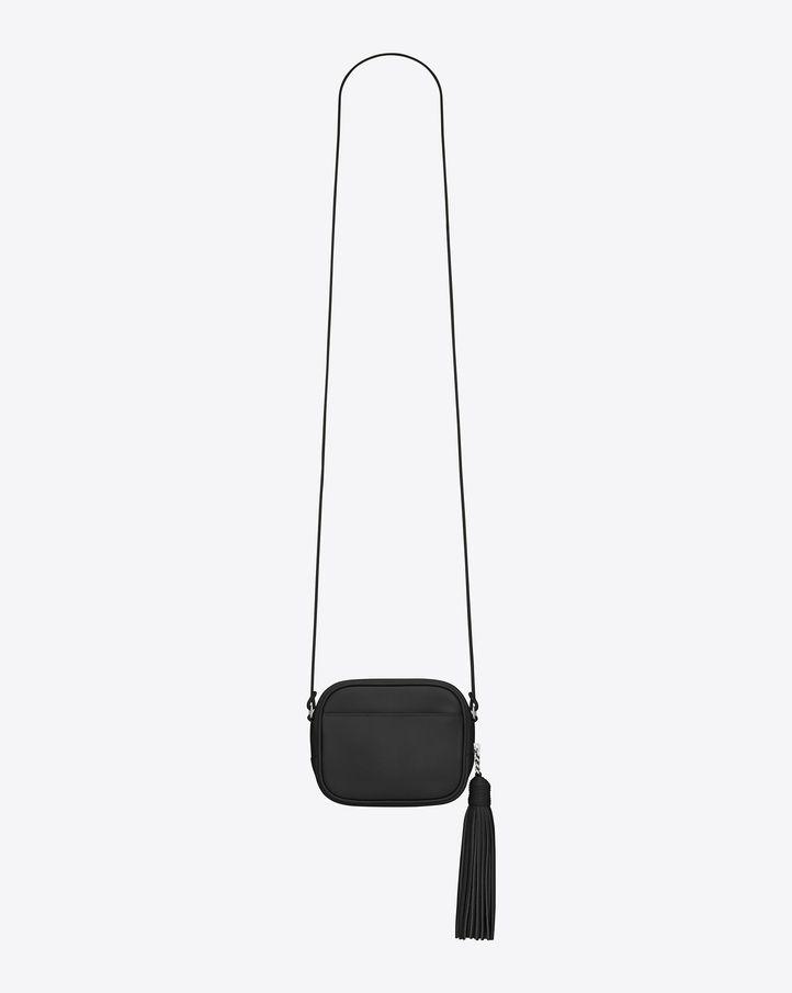 767a8b2e19697 Saint Laurent Paris Monogram Saint Laurent Blogger Bag in Black Leather
