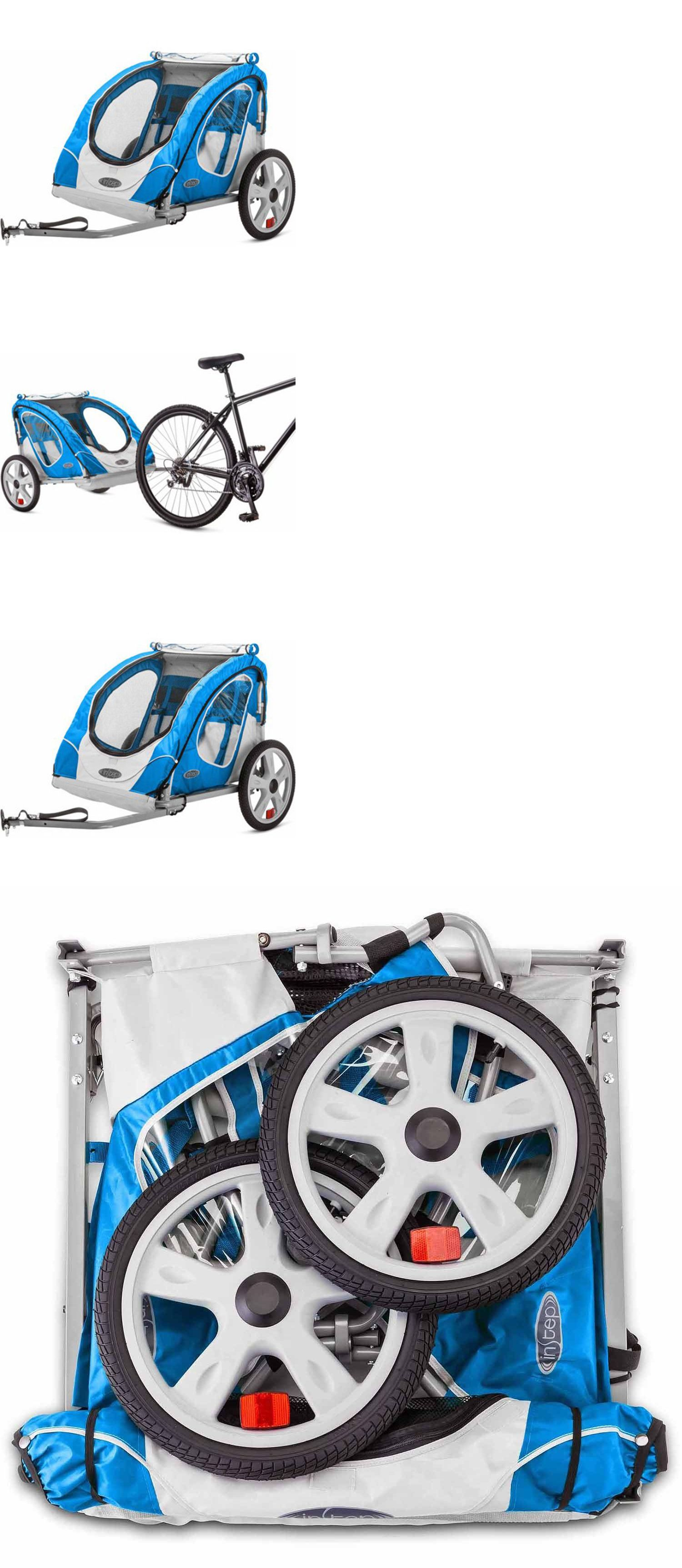 Trailers 85040: Bike Trailer Berry 2 Seat Child Bicycle