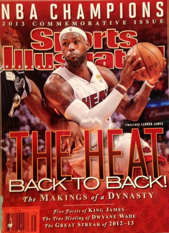 41a5bf3c90aff Miami Heat Sports Illustrated 2013 NBA Champions Commemorative Issue ...