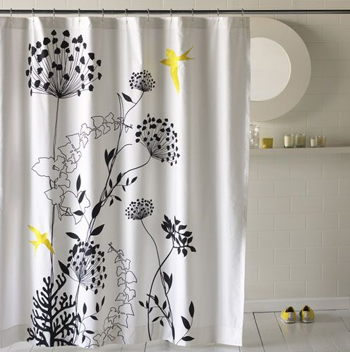 Large Graphic Shower Curtain Shower Curtain Decor Modern Shower Curtains