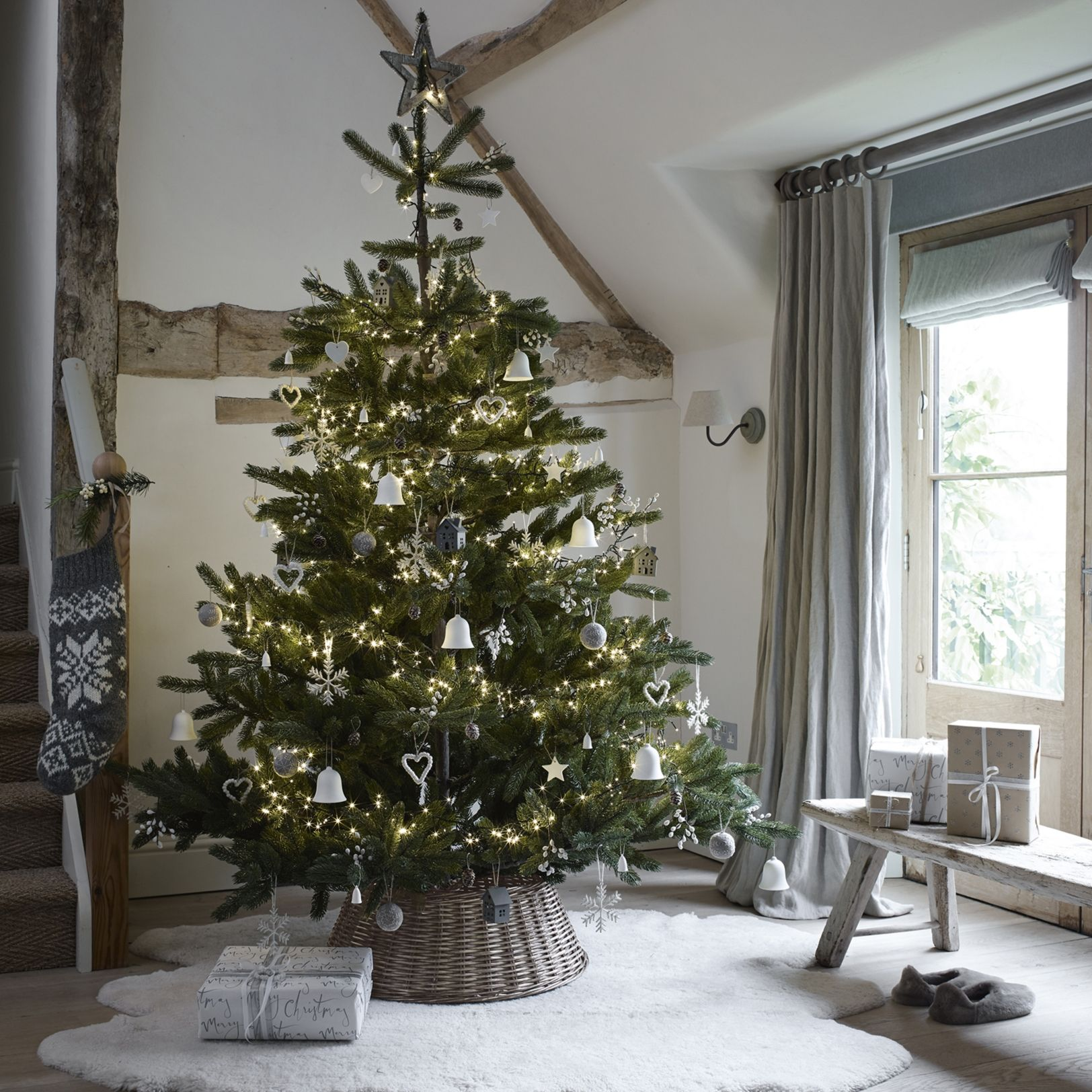 Ultimate Nordmann Christmas Tree 7 5ft The White Company Uk
