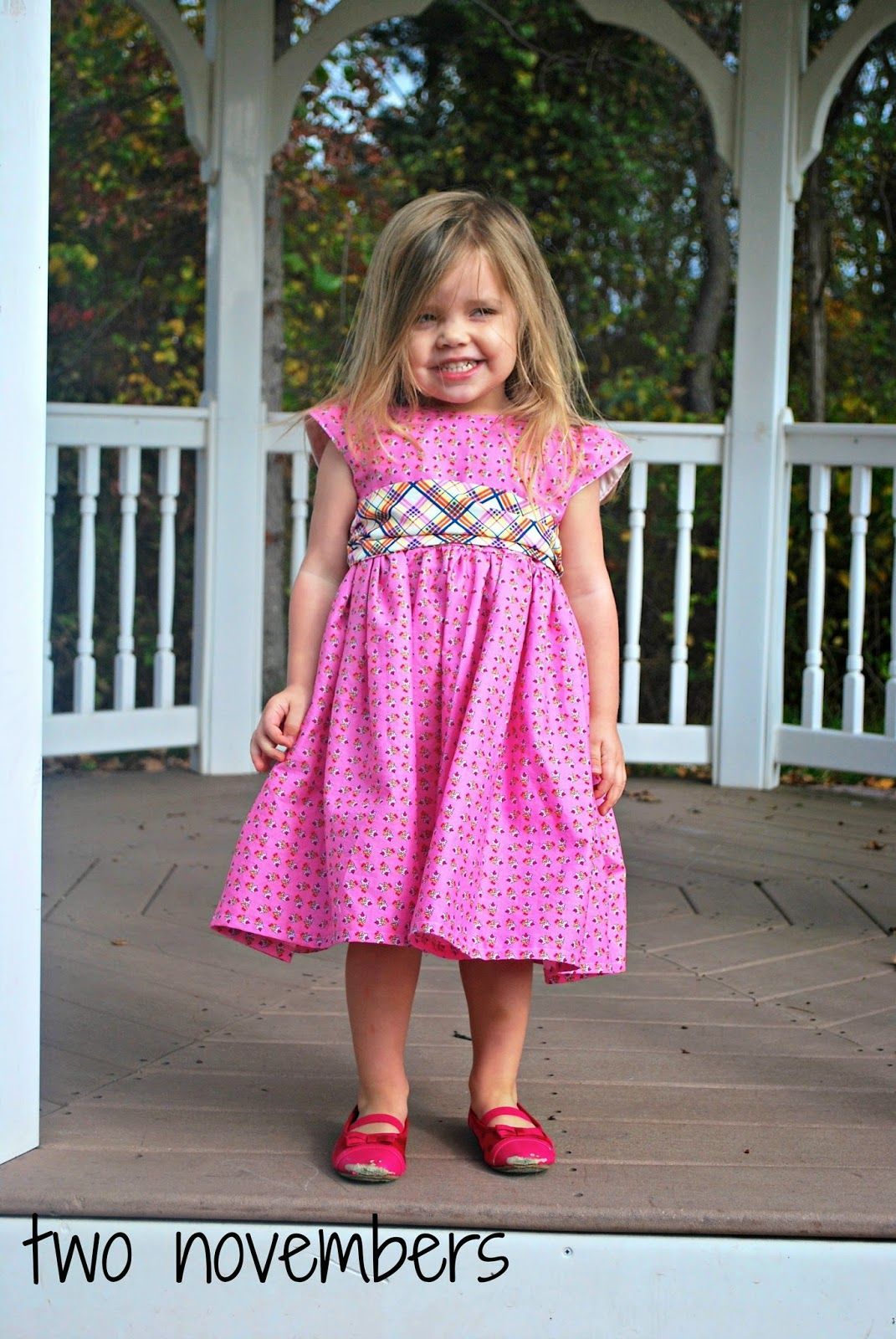 Two Novembers: EYMM Kenzie Holiday Party Dress | Sewing / DIY / Kids ...