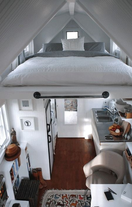 Eye Candy: Beautifully Designed Tiny Homes and Apartments » Curbly | DIY Design Community