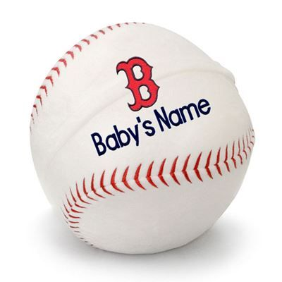 Boston red sox personalized plush baseball boston red sox at personalized baby st louis cardinals by designsbychadandjake negle Gallery